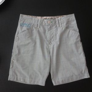 HURLEY Plaid Shorts Excellent Tons of Pockets
